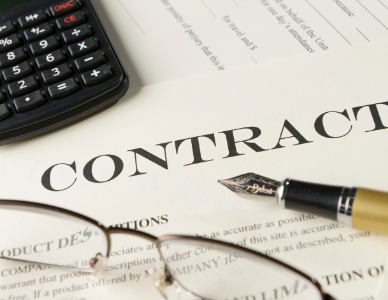 Picture of business law contract